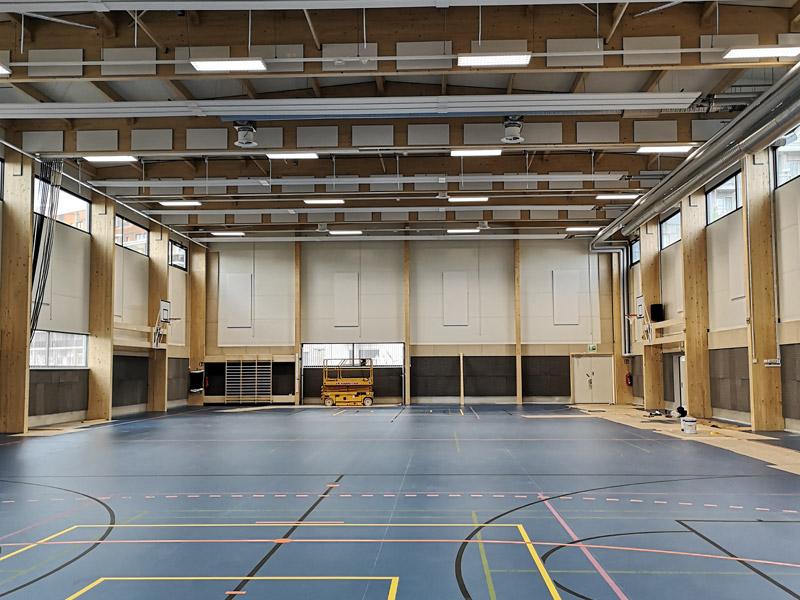 Pipetor Oy | Jätkäsaaren liikuntahalli