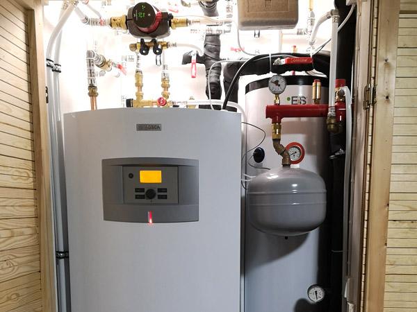 Lämmitysjärjestelmä remontit